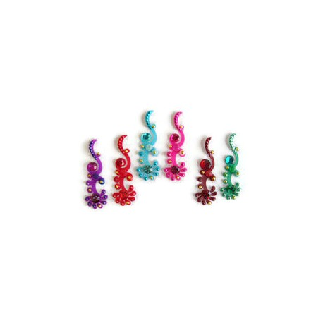 30_99 Stick on Sticker Body Jewelry Fancy Bindi