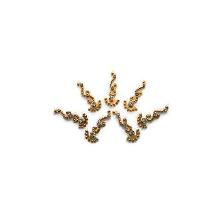 48_101 Stick on Sticker Body Jewelry Fancy Bindi