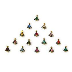 48_86 Stick on Sticker Body Jewelry Fancy Bindi