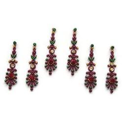 60_37 Bindis Body Jewelry Designer Handicraft