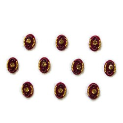 36_91 Stick on Sticker Body Jewelry Fancy Bindi