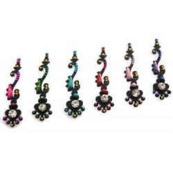18_181 Stick on Sticker Body Jewelry Fancy Bindi