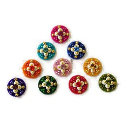 42_71 Bindis Sticker Body Jewelry Designer Garba Handicraft