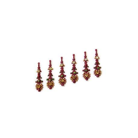 42_75 Bindis Body Jewelry Designer Handicraft
