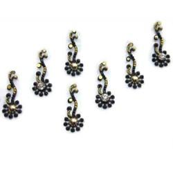 18_100 Stick on Sticker Body Jewelry Fancy Bindi