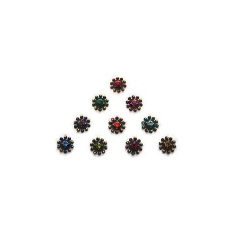 36_104 Stick on Sticker Body Jewelry Fancy Bindi