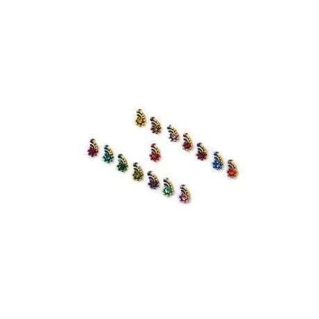 48_78 Stick on Sticker Body Jewelry Fancy Bindi