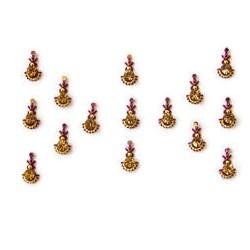48_85 Stick on Sticker Body Jewelry Fancy Bindi