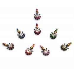 18_203 Stick on Sticker Body Jewelry Fancy Bindi