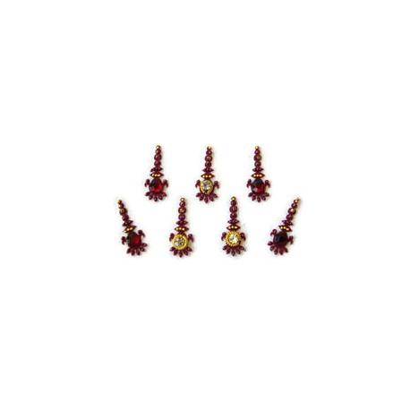 18_93 Stick on Sticker Body Jewelry Fancy Bindi