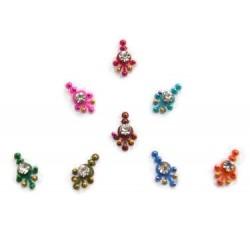 18_204 Stick on Sticker Body Jewelry Fancy Bindi
