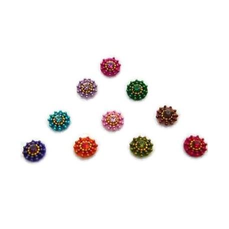 36_121 Stick on Sticker Body Jewelry Fancy Bindi