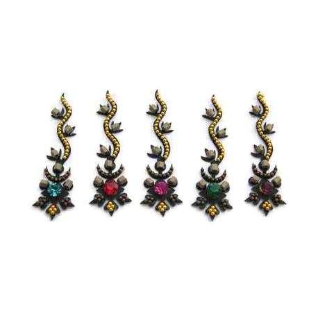 30_136 Bindis Body Jewelry Designer Handicraft