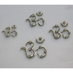 bz80 OM Tattoo Sticker Bindi Body Jewelry Non Piercing