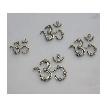 bz80 OM Tattoo Sticker Bindi Body Jewelry Non Piercing