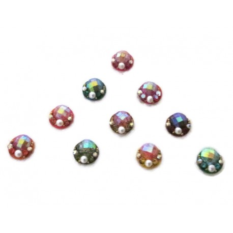 Sticker BINDI kumkum for sale online Gold Silver Diamante Bollywood Fashion Sticker Jewelry