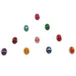36_132 Stick on Sticker Body Jewelry Fancy Bindi