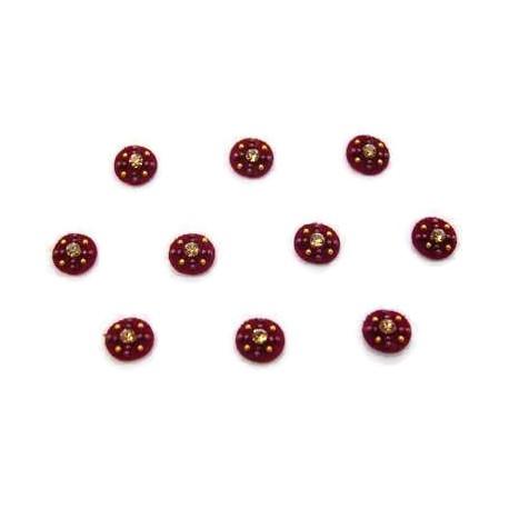 36_126 Stick on Sticker Body Jewelry Fancy Bindi