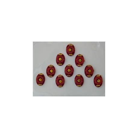 12_104 Stick on Sticker Body Jewelry Fancy Bindi