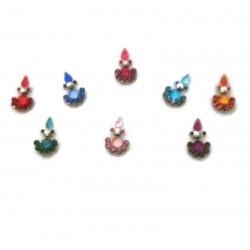 Bindis Body Jewelry Designer Bindi Non Piercing jewelry es203