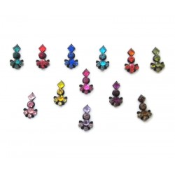 Bindis Body Jewelry Designer Bindi Non Piercing jewelry