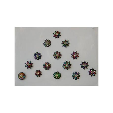 48_83 Stick on Sticker Body Jewelry Fancy Bindi