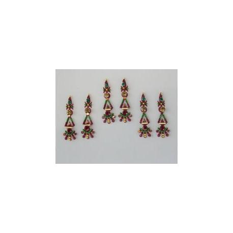 60_20 Bindis Body Jewelry Designer Handicraft