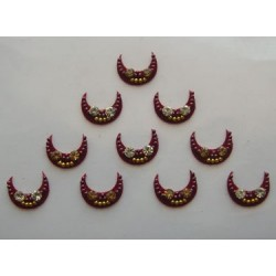 60_39 Bindis Body Jewelry Designer Handicraft