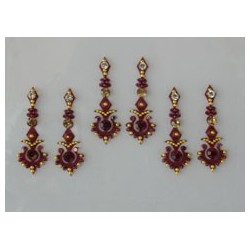 60_30 Bindis Body Jewelry Designer Handicraft