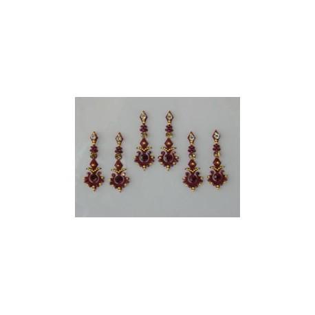 60_30 Bindis Body Jewelry Designer Handicraft