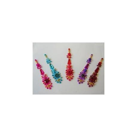 30_109 Stick on Sticker Body Jewelry Fancy Bindi