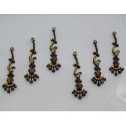 60_51 Bindis Body Jewelry Designer Handicraft