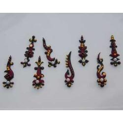 12_180 Bindis Body Jewelry Designer Handicraft